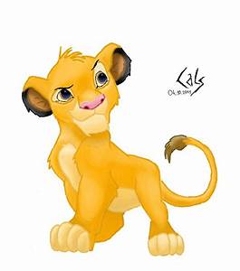 The Lion King, young Simba by calsberq on DeviantArt
