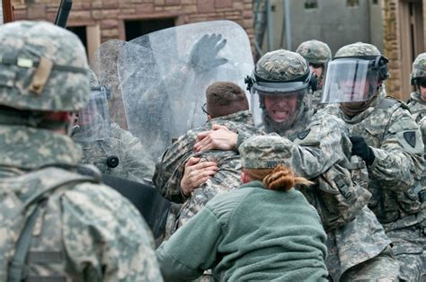 army domestic quick reaction force riot control