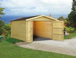 Garage En Bois Ou Carport Pour Votre Voiture 12 Tout