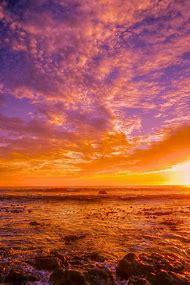 Orange and Purple Sky