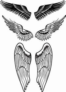 angel wings tattoo designs for men | Projects to Try ...