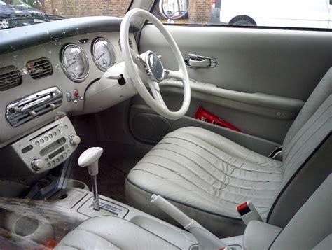 File Nissan Figaro Interior Jpg Wikimedia Commons