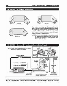 Msd 6430 6aln Ignition Control Installation User Manual