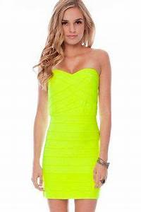 Neon party outfits on Pinterest