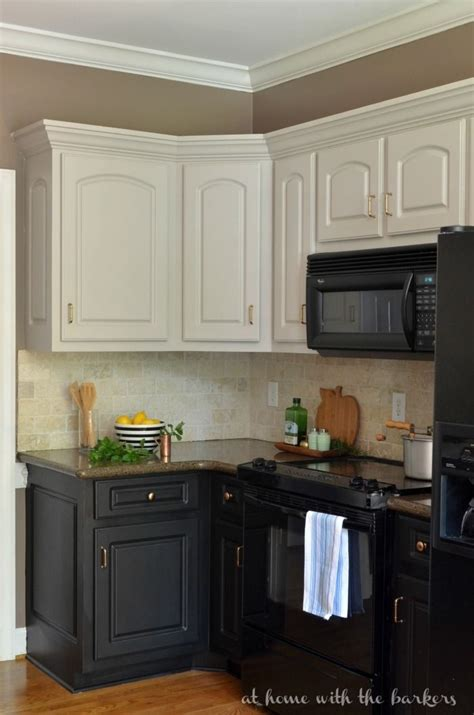 kitchen cabinet tips 25 best collection of two tone painted kitchen cabinets 2809