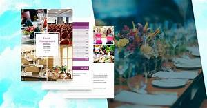 event management template free sle proposify