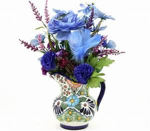 Custom Made Country Home Decor Silk Flower Arrangement