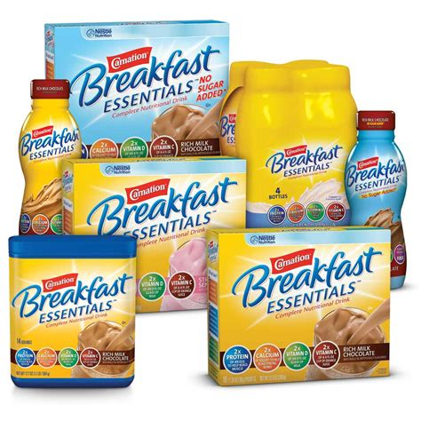 Amazon.com : Carnation Breakfast Essentials, No Sugar