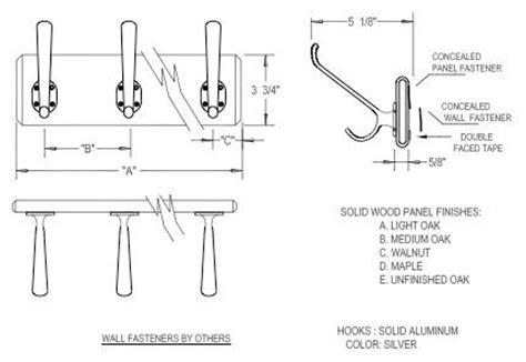 Coat Hook Spacing  Home Design