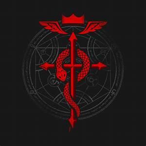 Fullmetal Alchemist Flamel - Fullmetal Alchemist - T-Shirt ...