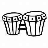 Colorear Instrumentos Bongos Imprimir Musicales Dibujo Unos Dibujos Bongoes Bateria Infantiles Iluminar Imagen Mejores Musica Pintar Llueva Gratis Guiainfantil Arpa sketch template