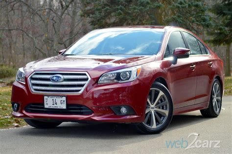 2015 Subaru Legacy 3.6r Limited Review