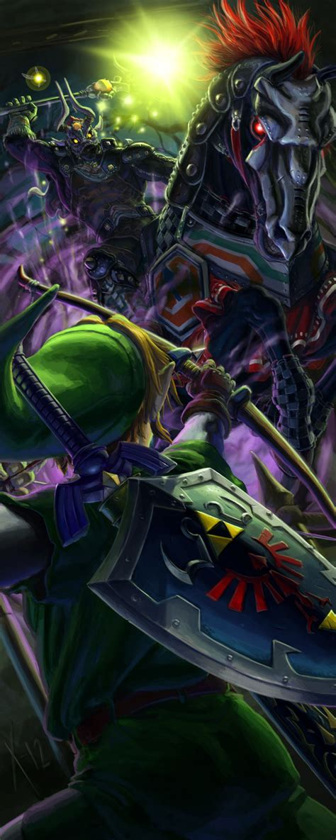 Another Great Phantom Ganon Fan Art From The Legend Of