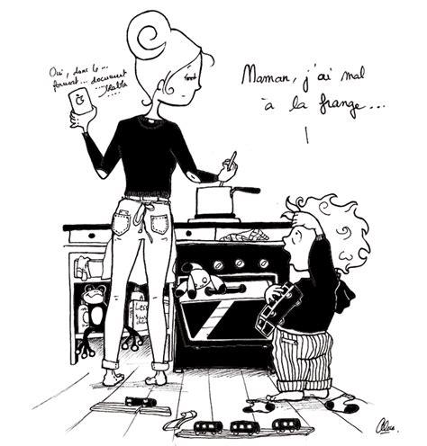 humour cuisine illustration d 39 un enfant qui se plaint à sa maman qui
