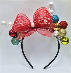 christmas headband holiday headpieces pinterest