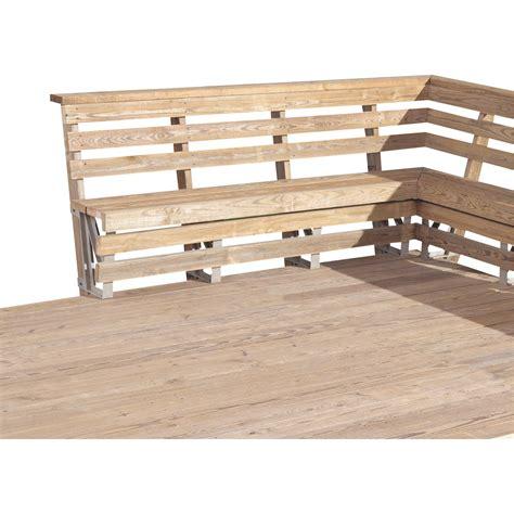 2x4 Basics Deck Bench Brackets — Sand, 2pk, Model# 90168