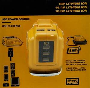 Best Usb Battery Charger Adapter For 12v  20v Li Ion