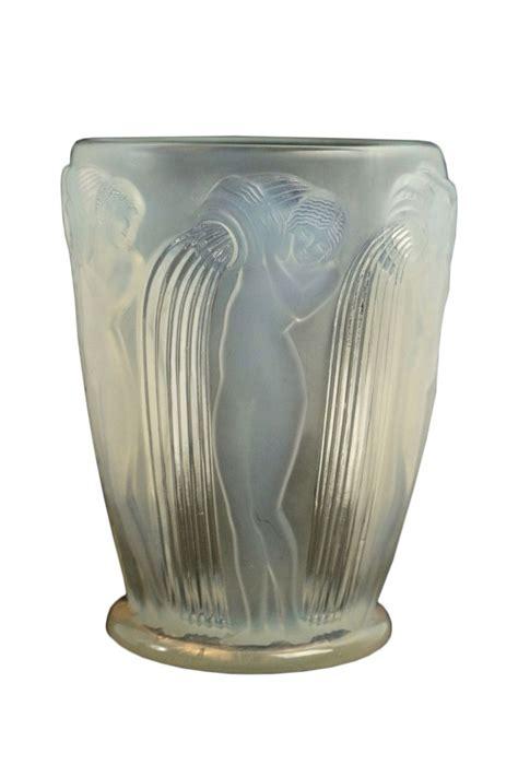 lalique vase ren 233 lalique vase quot danaides quot opalescent ref 67549