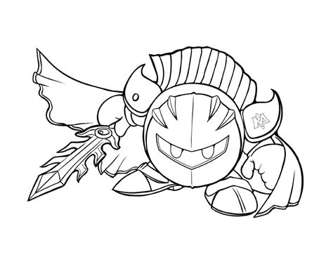 Knight Coloring Pages - Castrophotos