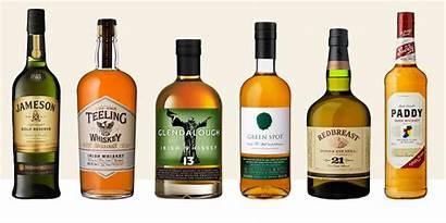 Whiskey Irish Brands Scotch Types Ireland Bottles