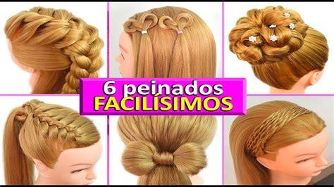 peinados casuales  cabello largo trenzas faciles  rapidos  cada  youtube