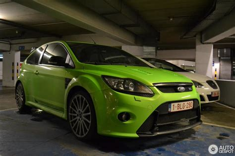 Tuned Focus Rs by Ford Focus Rs 2009 Berghen Tuning 31 January 2013