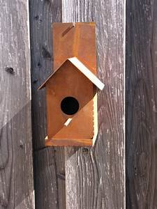 Weinregal Für Die Wand : edelrost vogelhaus f r die wand angels garden dekoshop ~ Markanthonyermac.com Haus und Dekorationen