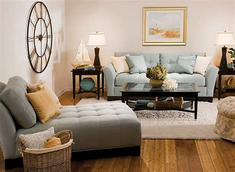 Badcock Furniture Living Room Sets by Color Story Decorating With Blue Monochromatic
