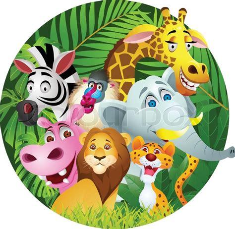animal cartoon stock vector colourbox