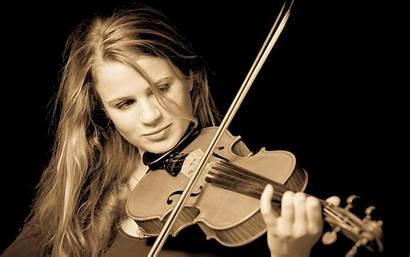 Violin Instrument Musical Musician Violinist Plays Background