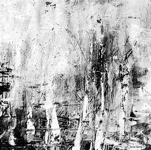 Old Memories -black And White Abstract Art By Laura Gomez ...