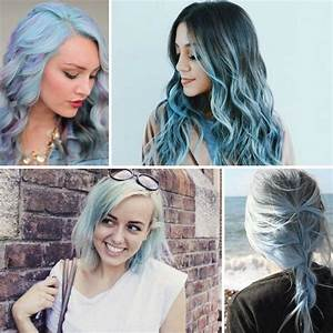 Pastell Lila Haare : pastell blaue haare f r den urlaub im sommer beauty ~ Frokenaadalensverden.com Haus und Dekorationen