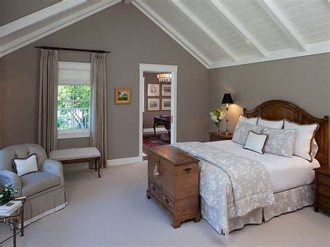 Decorating ideas for ceilings, warm relaxing bedroom