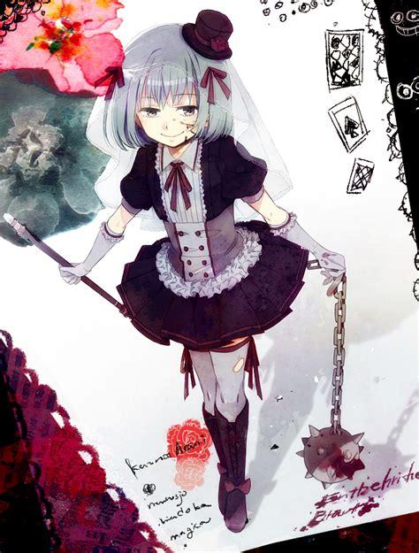 jinna asumi mahou shoujo madokamagica zerochan anime