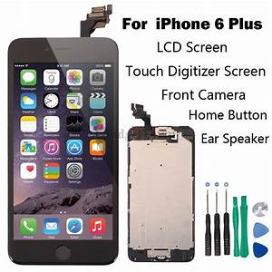 full set lcd touch screen digitizer assembly replacement With documents and data iphone 6 plus