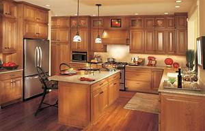 This old box when wood floors match the kitchen cabinets for Wood kitchen cabinets with wood floors