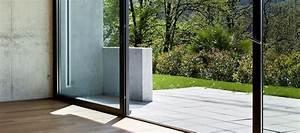 terrassen schiebetur aus kunststoff holz und holz alu With terrassen schiebetür