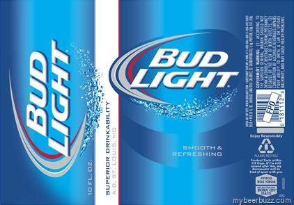 Bud Light Can Label