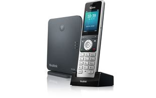 yealink wp base station  dect colour screen handset