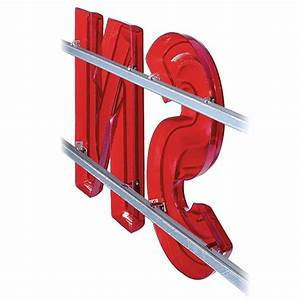 Sign letter track 8 ft snap lok cal snp08 for Davson quartet letter board