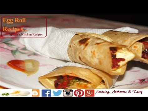 v駻anda cuisine how to egg roll egg rolls recipe kolkata style egg roll anda roll indian food recipe ii