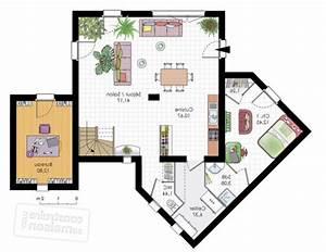 idee plan maison affordable plan maison chambres plain With amazing logiciel pour maison 3d 2 plans de maison en 3d construire avec maisons den flandre