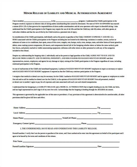 FREE 26+ Medical Release Form Templates in PDF   MS Word ...
