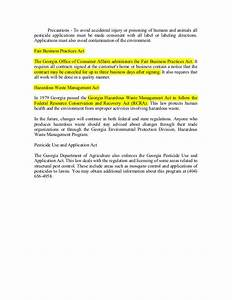 georgia pest control study guide With termite letter georgia