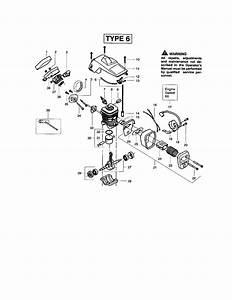 Poulan 2150 Type 6  Recon  Gas Chainsaw Parts