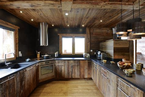 cuisine de chalet le chalet des envers authentic luxe locations