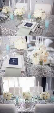 Something Blue Themed Bridal Shower by Romantic Winter Wedding Colors Blue Shades Silver