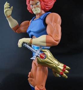 Jin Saotome's Five Minute Toy Review: Lion-O, Bandai ...