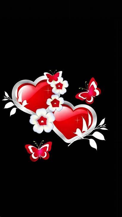 Hearts Heart Butterfly Butterflies Iphone Phone Rose