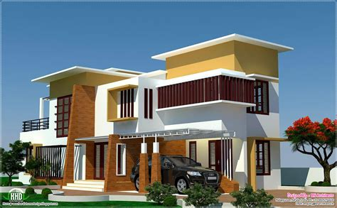 home design house 4 bedroom modern villa design home design plans